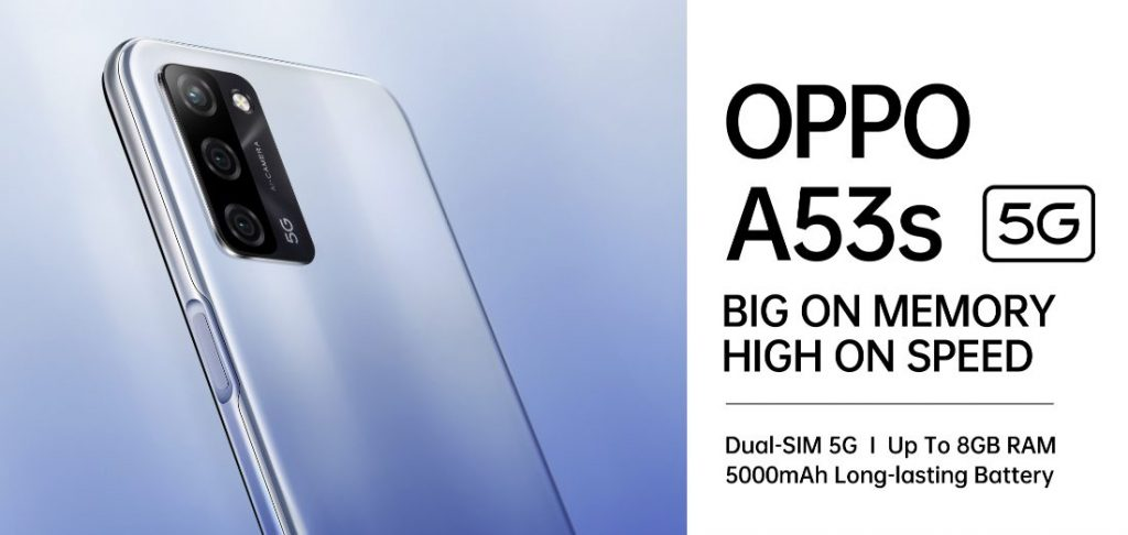 OPPO A53s 5G: priced only at INR 14,990 1