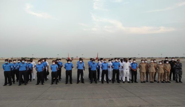 WESTERN NAVAL COMMAND DEPUTED FOR PM COVID CARE HOSPITAL AT AHMEDABAD 1