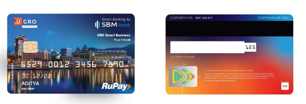 U GRO Capital partners with SBM Bank India to launch 'GRO Smart Business' credit card for MSMEs 1