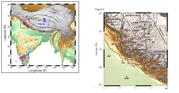 Non-uniformity of Himalayas foresees significantly large earthquake events 1