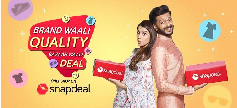 Snapdeal highlights its value e-commerce leadership with a new brand campaign 1