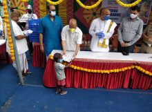 Home Minister of Karnataka Launches COVID-19 Relief Feeding Centre 2