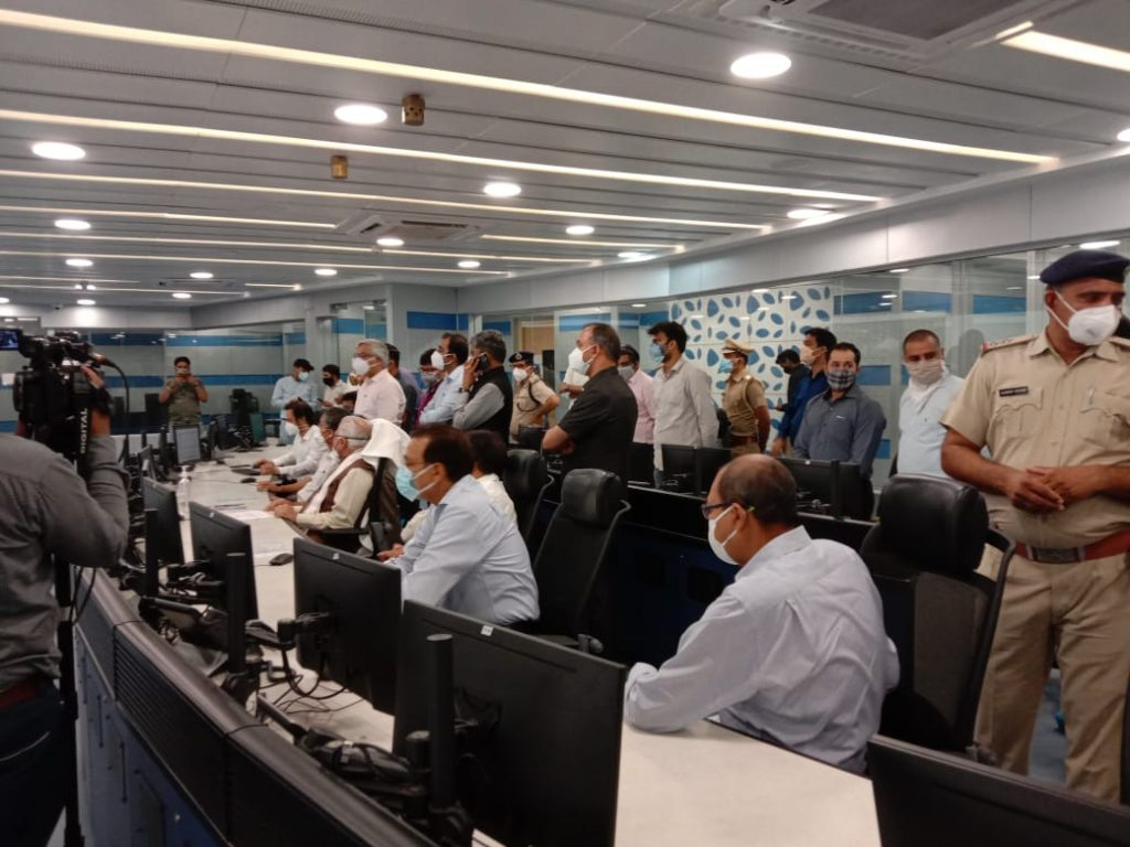 Inauguration of Integrated Command and Control Centre(ICCC), Gurugram 1