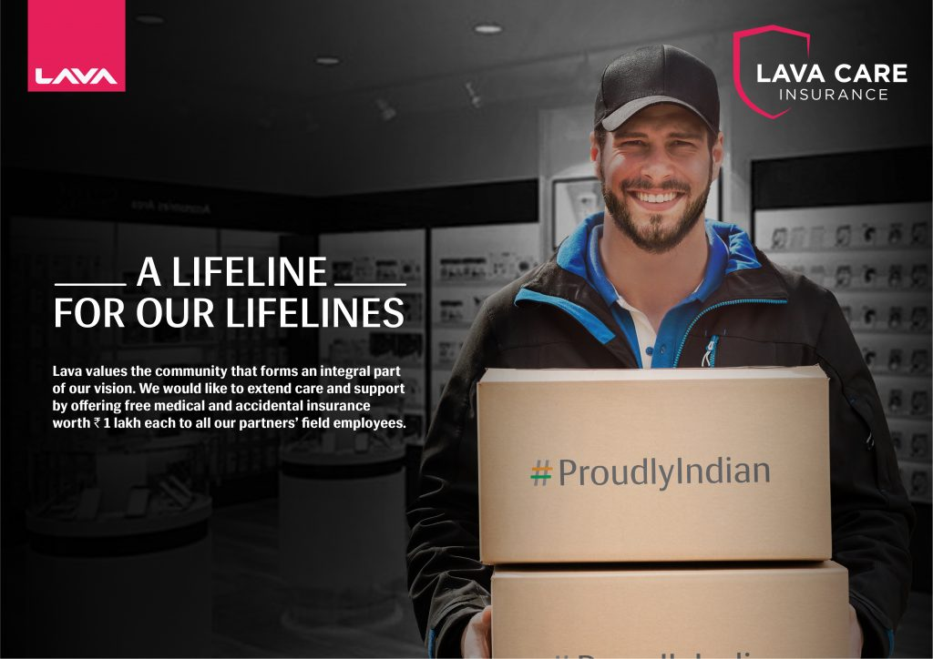 LAVA becomes the first mobile phone company to provide medical & accidental insurance cover to its partners' field employees 1