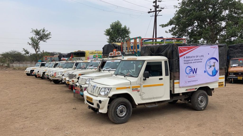 Mahindra steps in with 'Oxygen on Wheels' to ensure swift supply of Oxygen 1