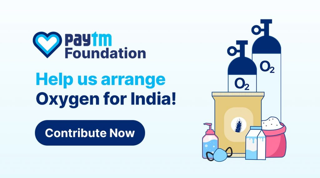 Paytm to set up Oxygen Plants for long-term sustainable supply across India 1