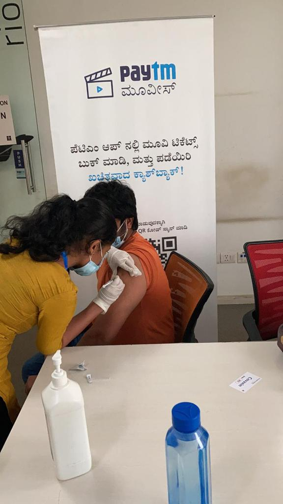 Paytm begins COVID-19 vaccination drive for its 8000 frontline Field Service Executives 1