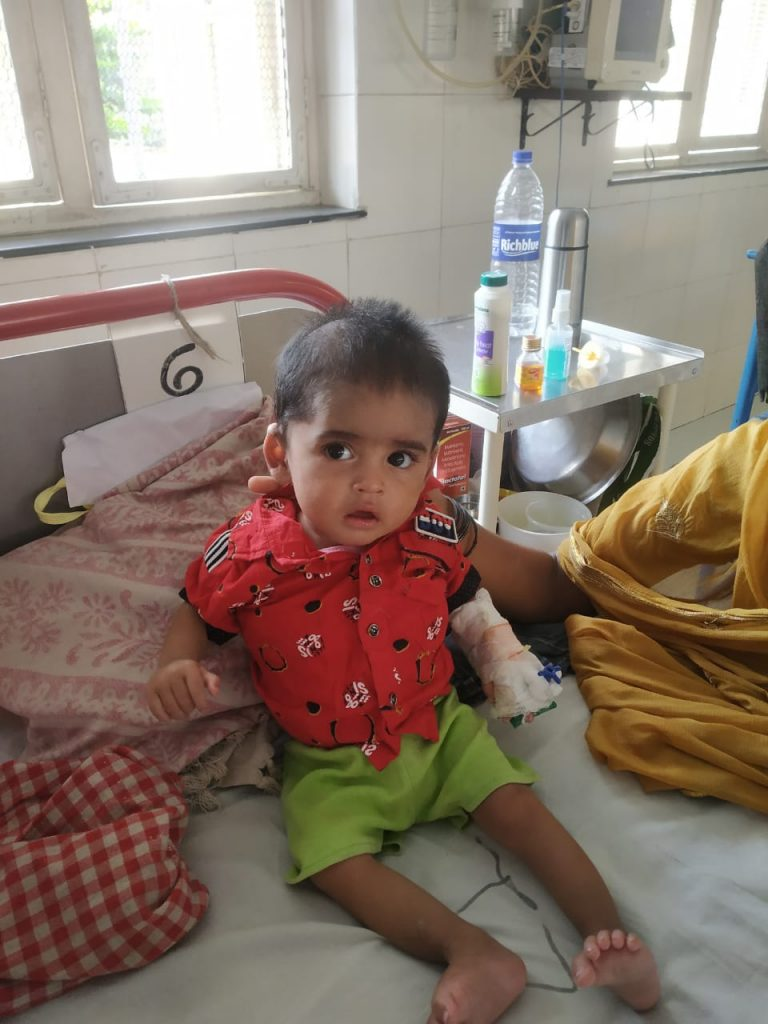 Wadia Hospital Successfully Treated A 7-Month-Old Boy With Covid, 15 Cm Chest Tumor 1