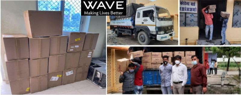Wave Group steps up effort to beat COVID19 in UP & Delhi 1