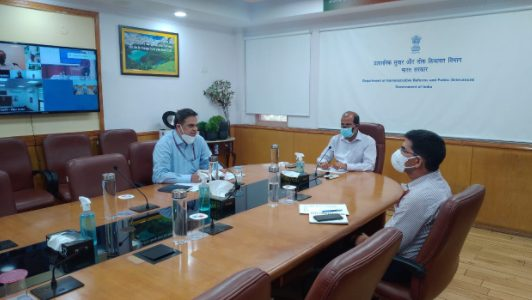 DARPG reviews COVID 19 Public Grievances with Grievance Officers 1