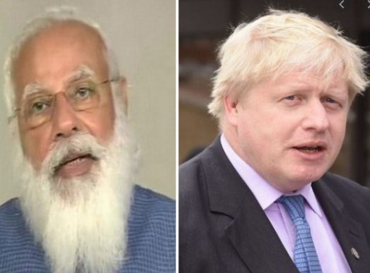 Narendra Modi to hold Virtual Summit with the Prime Minister Boris Johnson on 4 May 1