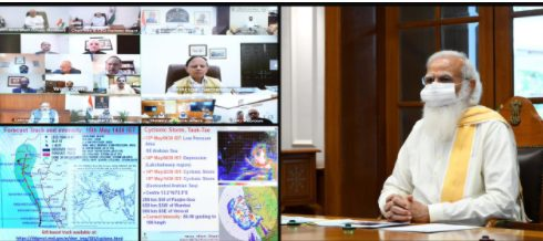 Prime Minister holds high level meeting to review preparedness on Cyclone 'Tauktae' 1