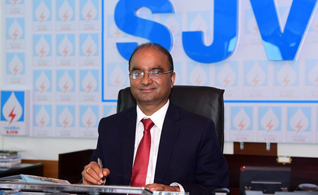 Sh. Nand Lal Sharma, Chairman & Managing Director, SJVN Conferred with PSU Award of The Year-2020 1