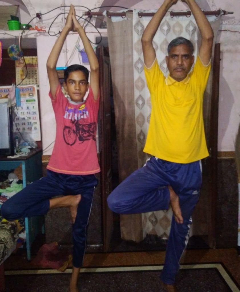 HCL Foundation conducted online Yoga Session for students and their families on International Yoga Day 1