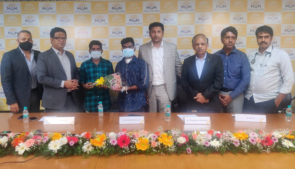 Timely Emergency Liver Transplant saves life of a National level Kabaddi player at MGM Healthcare 1