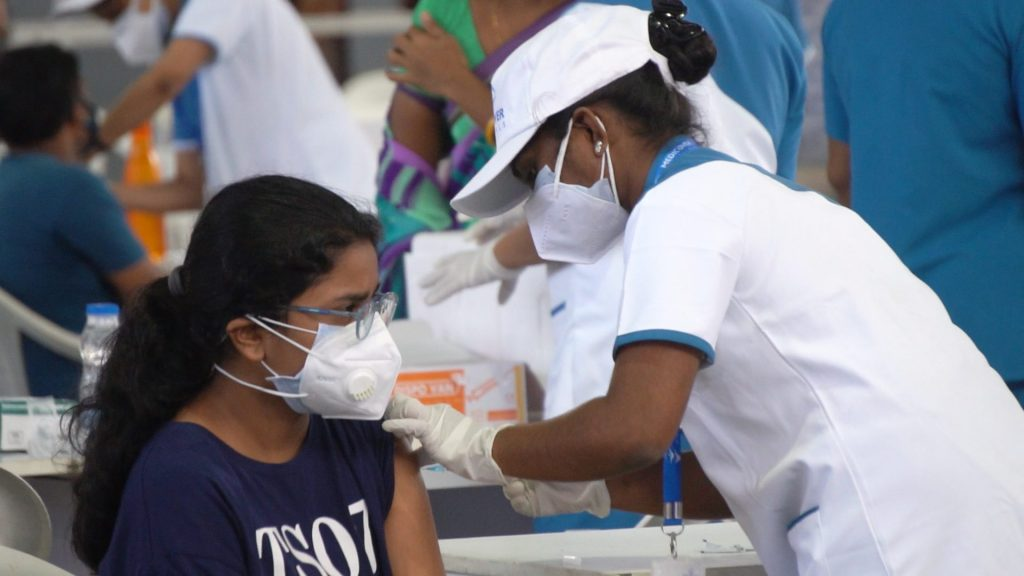 Vaccinating 40,000 people was Queue less, Paperless, Touchless, Cashless and Contactless 1