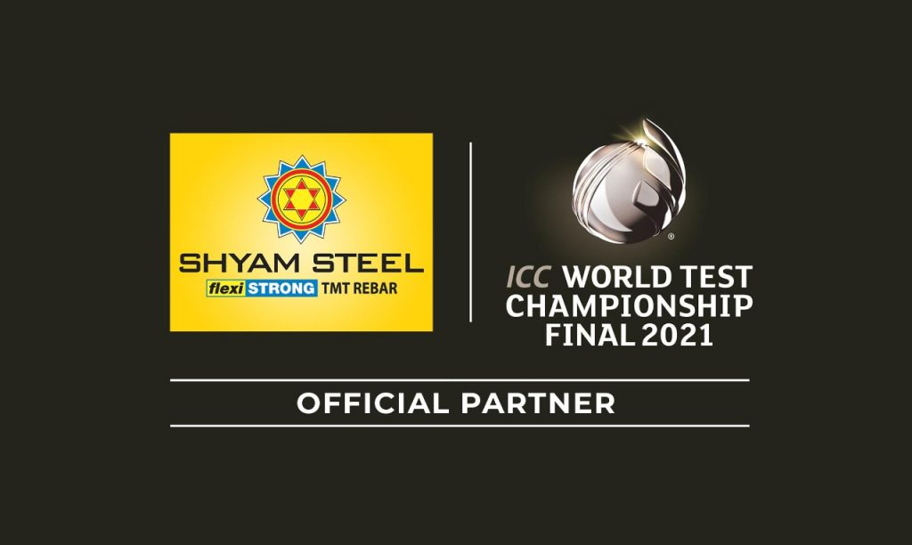 Shyam Steel India becomes the Official Partner of ICC World Test Championship Final 1