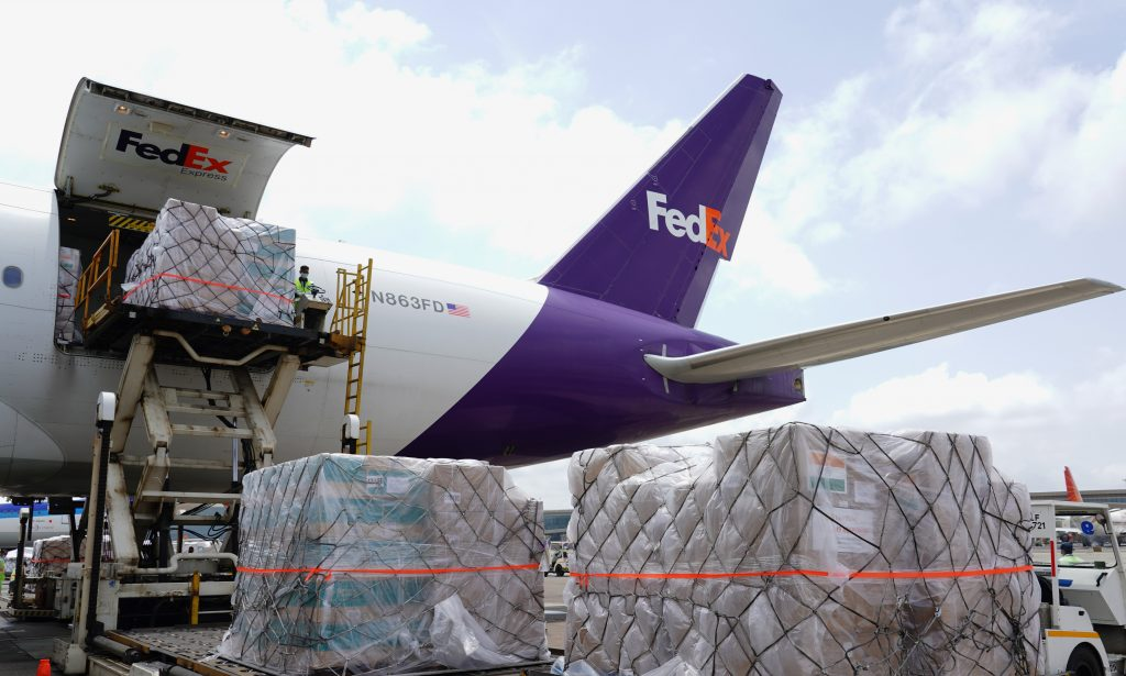 FedEx Extends Support, Donates Third Dedicated Charter Flight Carrying Critical COVID-19 Aid to India 1