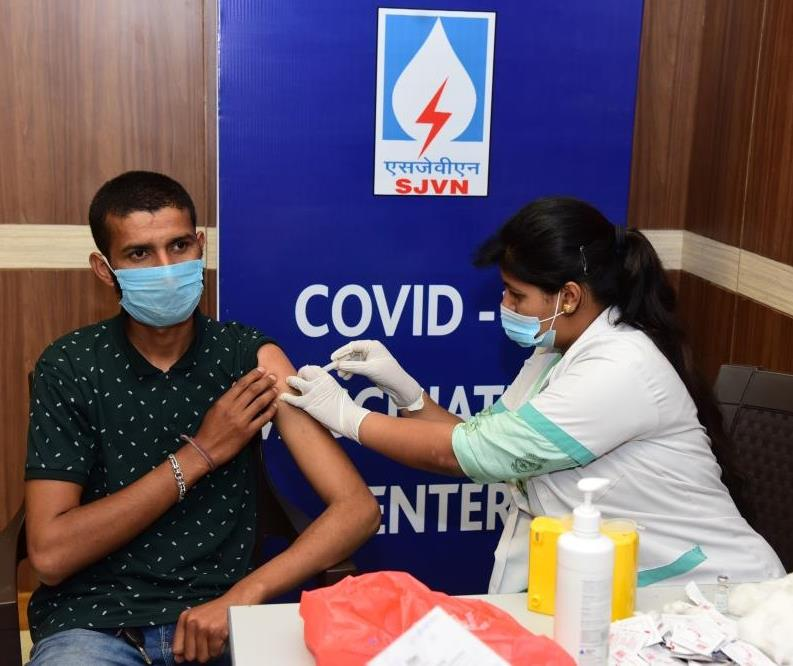 1700 vaccinated in Three Days Special Drive by SJVN 1