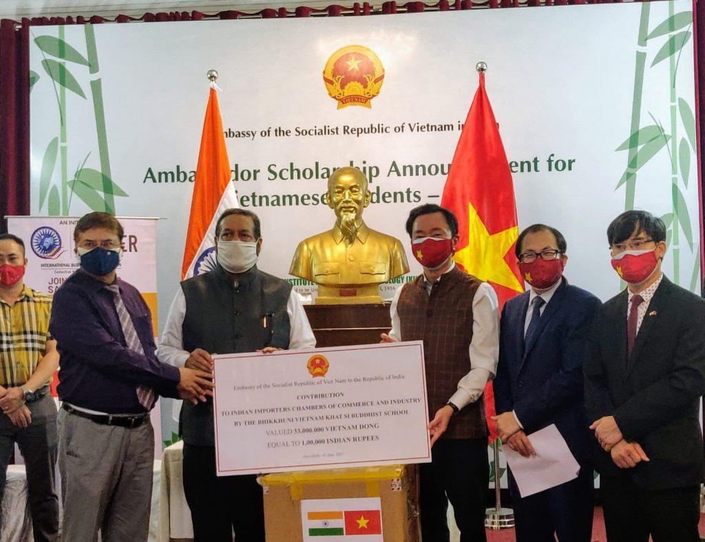 The Government & People of Vietnam stand with India 1