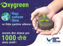 """NSS pledged to plant 1000 plants in 10 cities on this World Environment Day through """"OxyGreen"""" Mission"""