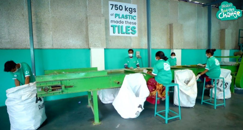 Bisleri launches India's first clean plastic segregation and collection center to fight plastic pollution 1
