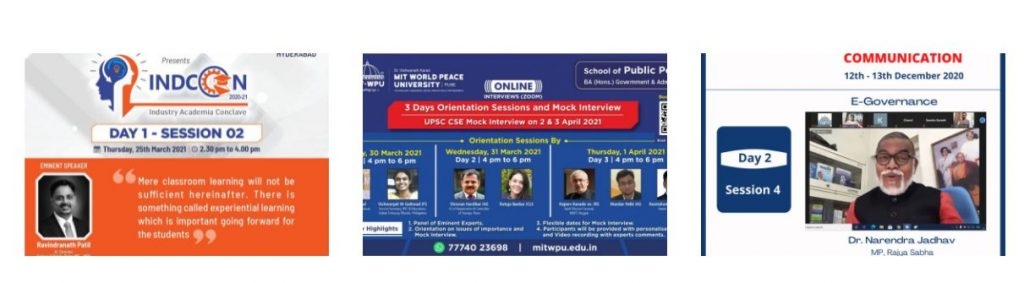 MIT-WPU launches Public Policy Program in association with KPMG in India 1
