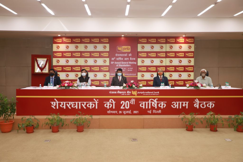 Punjab National Bank holds 20th AGM through Video conference 1