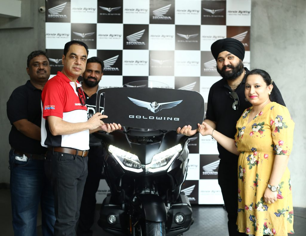 Honda commences deliveries of 2021 Gold Wing Tour in India 1