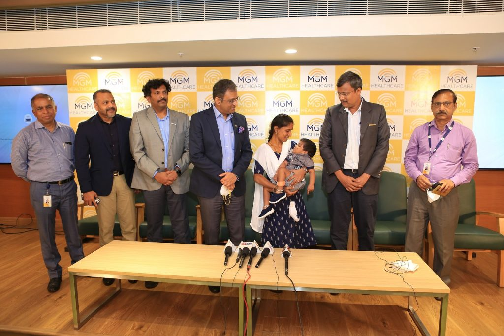 16-month old infant gets relief from 'uncontrolled seizure attacks' at MGM Healthcare Chennai 1