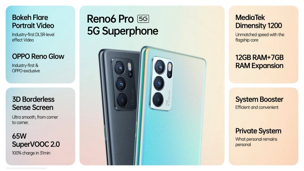 OPPO sets a new benchmark in smartphone videography with the launch of the 5G super phone Reno6 Pro 5G and the Reno6 5G 1
