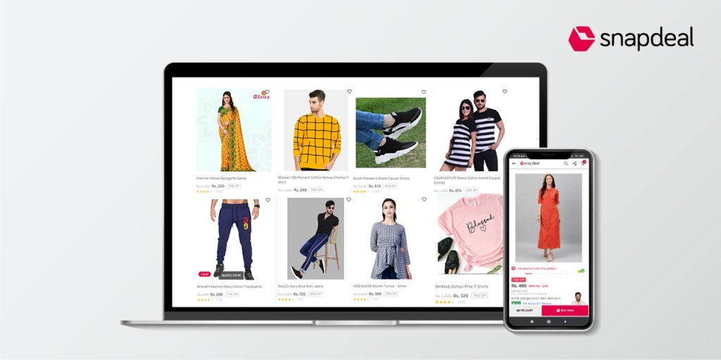Snapdeal's fashion sales up 210% in 2021 1