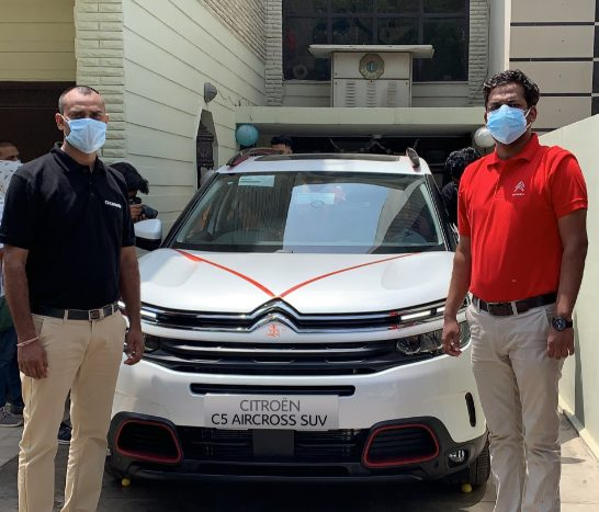 CITROËN C5 AIRCROSS SUV PURCHASED 100% ONLINE, HOME-DELIVERED TO ITS CUSTOMERS IN SURAT & CHANDIGARH 1