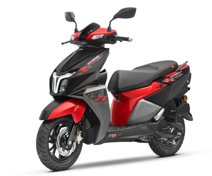 TVS Motor Company launches BS-VI TVS NTORQ 125 in Nepal 1