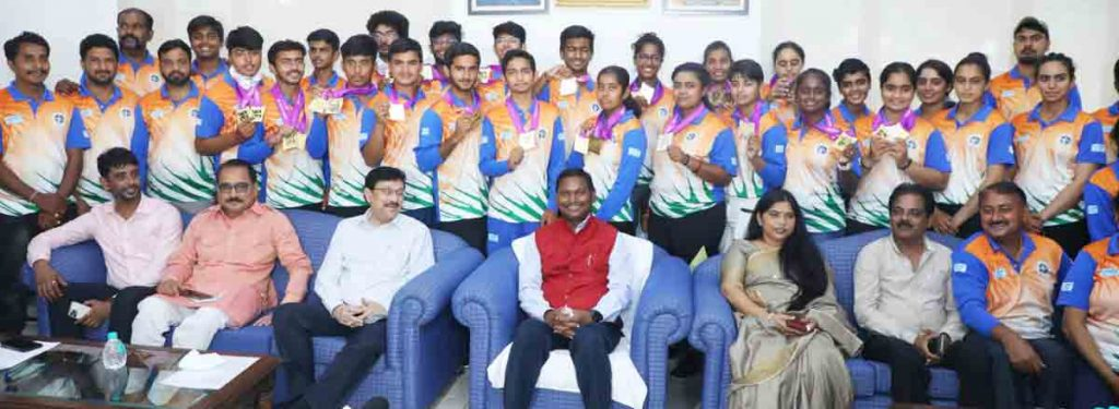 Junior Archery Contingent felicitated for exemplary performance in World Championship 1