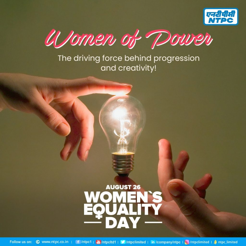 NTPC announces recruitment of an all-Female Engineers batch on Women Equality Day 1