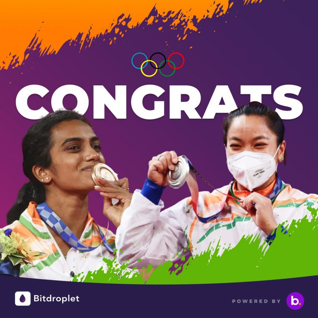 Bitbns announces Cryptocurrency SIPs worth lakhs for Indian Medalists at Tokyo Olympics 2020 1