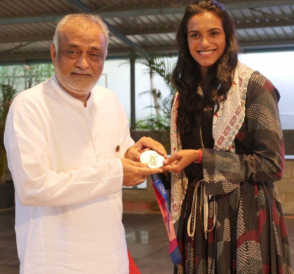 Olympian PV Sindhu Spends an Evening of Gratitude at the Heartfulness Institute 1