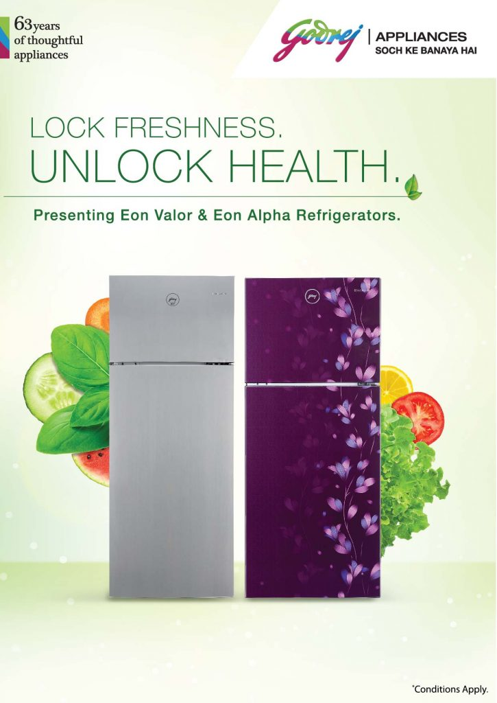 Godrej Appliances keeps your perishables fresh for up to 30 days with new Cool Balance Technology in its latest refrigerators 1
