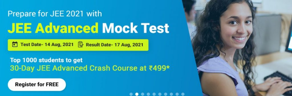 Aakash Educational Services Limited Announces All India JEE (Advanced) Mock Test 2021 1