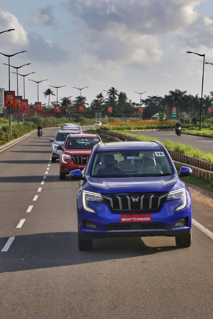 Mahindra Freedom Drive with the XUV700 makes a pitstopat Jaipur 1
