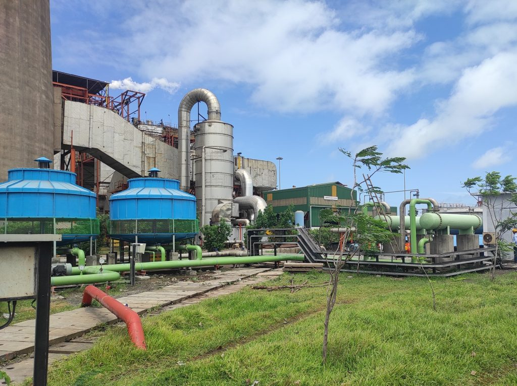 Essar Power commissions its first flue gas scrubber to reduce Sulphur emissions by 25% 1