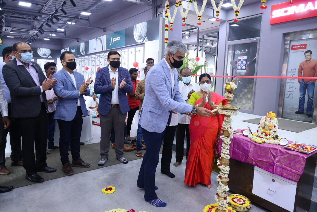 Somany Ceramics forays into Puducherry Market with Double Impact by launching its Exclusive Store & Duragres Emporio under one roof 1