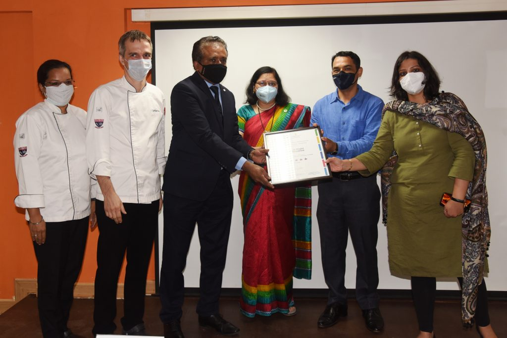 VMSIIHE bags coveted 'Eat Right Campus' certification by FSSAI 1