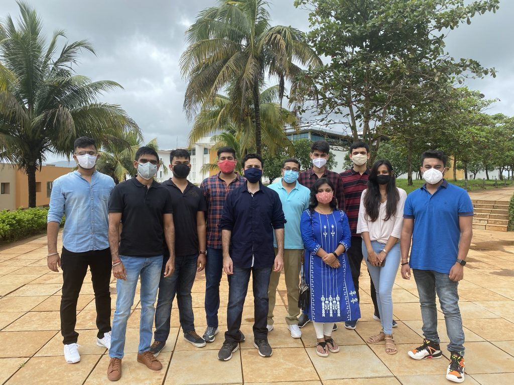 Goa Institute of Management Welcomes Students Back to Campus 1