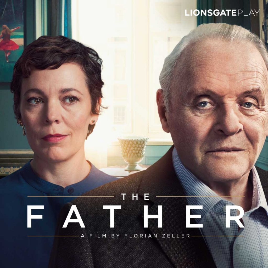 Anthony Hopkin's Oscar Winning Film The Father To Release In India On Friday 3rd September Exclusively On Lionsgate Play 1