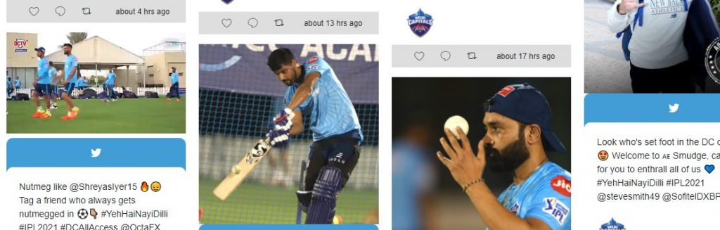 """""""Feeling on top of the world,"""" says Shreyas Iyer after rejoining the Delhi Capitals team 1"""