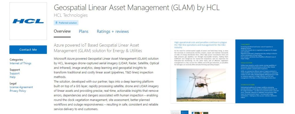 HCL Technologies Announces Availability of GLAM Solution on Microsoft Azure Marketplace 1
