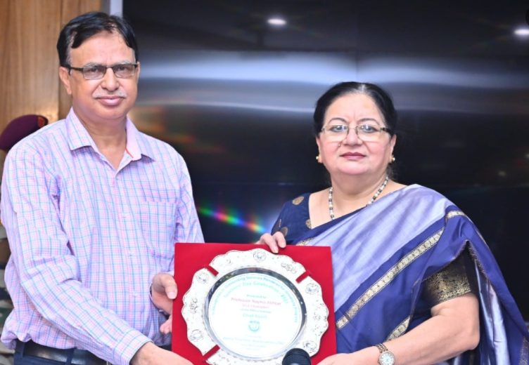 Jamia Teachers' Association honors retired and notable faculties on Teachers' Day 1