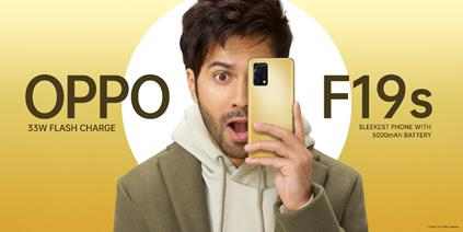 In line with the popular F Series Legacy, OPPO is set to launch all new F19s sleekest phone with a 5000 mAh battery 1